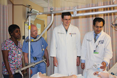 pics of the Combined Ortho-Geriatric Team from Trauma Rounds