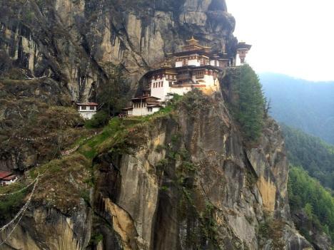 Bird's Nest Monastery in Bhutan