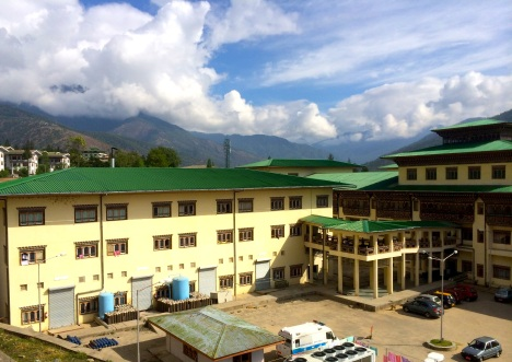 National Referral Hospital in Thimphu, Bhutan